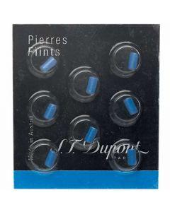 Pack of 8 Blue S.T. Dupont Lighter Flints.