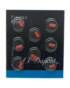 Pack of 8 Red S.T. Dupont Lighter Flints.