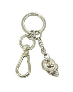 This Paul Smith silver keyring comes with a branded ring at the top.