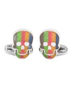 The Paul Smith skull cufflinks.