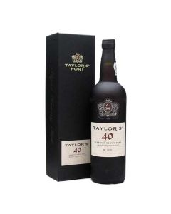 The Taylor's 40 Year Old Tawny Port 75cl comes presented in its own gift box.