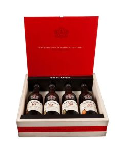 This is the Taylor's Century Pack of Tawny Port 4 x 37.5cl Bottles.