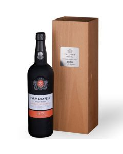 This is the Taylor's Very Old Single Harvest Port 1970.