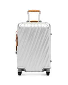 This is the TUMI Silver 19 Degree Aluminium International Carry On.