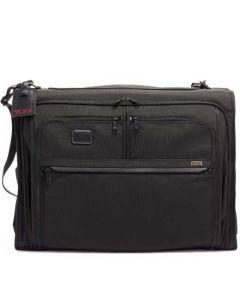 This is the TUMI Black Alpha 3 Classic Garment Bag.
