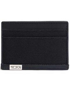 This is the TUMI Black Alpha Slim Card Case.