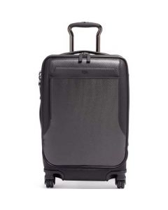 This is the TUMI Ashton Carbon International Dual Access Carry On.
