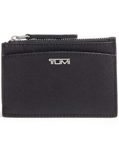 This is the TUMI Belden Black Zipped Card Case.