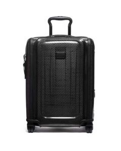 This is the TUMI Black/Graphite Tegra-Lite Max Continental Expandable Carry-On.