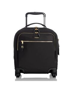 The TUMI black Voyageur Osona compact carry-on case