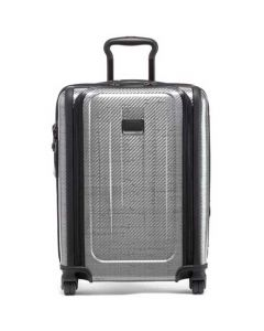TUMI Graphite Tegra-Lite Continental Expandable Carry-On.