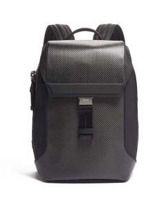 This is the TUMI Ashton Carbon Dalton Flap Backpack.