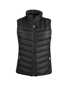 This TUMI PAX women's vest comes in black.