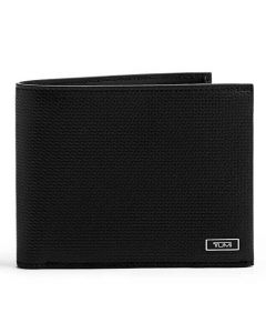 This black wallet has been designed by TUMI.