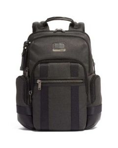 This is the TUMI Graphite Alpha Bravo Nathan Backpack.