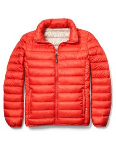 This puffer has been designed by TUMI.