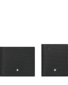 This is the Montblanc Meisterstück Selection 6CC Wallet & Business Card Holder with View Gift Set.