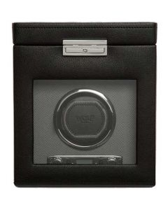 This is the WOLF Grey Viceroy Watch Winder with Storage.