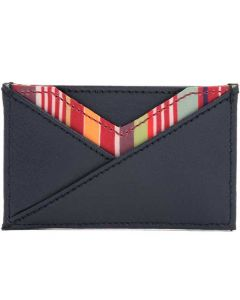 This is the WOLF Navy Howard 7CC Card Holder.