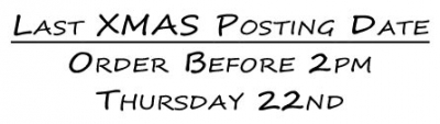 Last Posting Dates for Christmas Orders