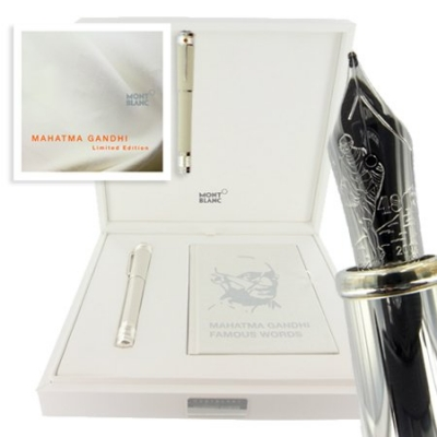 Montblanc Mahatma Gandhi Limited Edition Pens in stock at Wheelers Luxury Gifts!