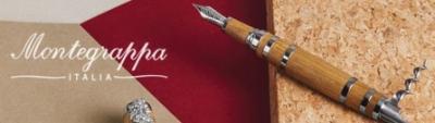 Montegrappa Writing Instruments feat. Grappa Copper, Tire-Bouchon, Copper & Mosaico