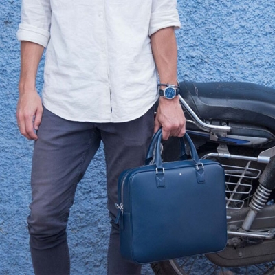 Montblanc Blue is the New Black