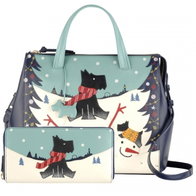 Radley Limited Edition Snow Days Picture Bag