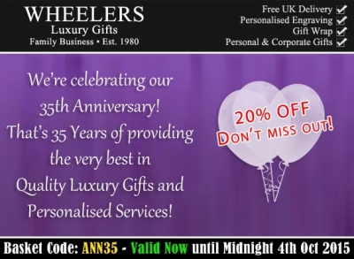 Our 35th Anniversary Celebration at Wheelers!
