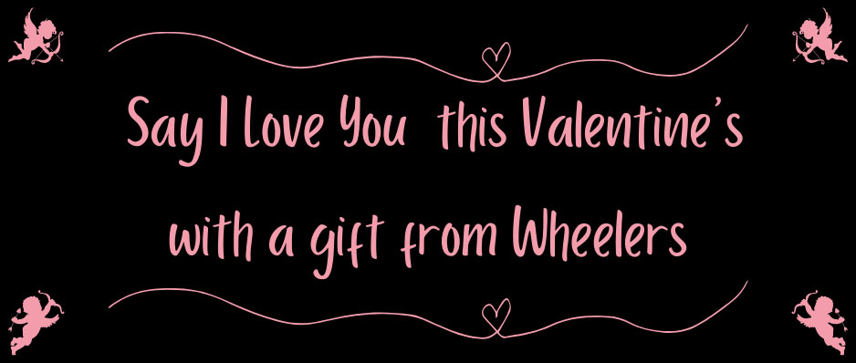 Say I Love You with a Gift from Wheelers