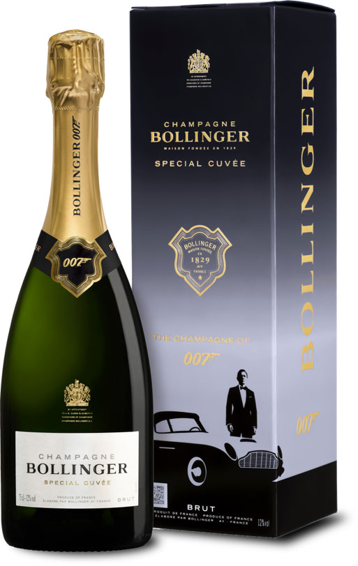 Bollinger No Time To Die Champagne