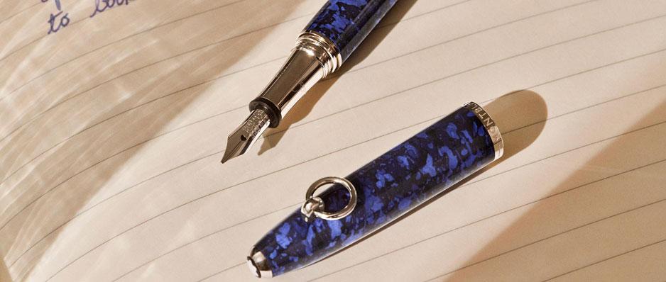 Lifestyle Montblanc Muses Elizabeth Taylor Fountain Pen