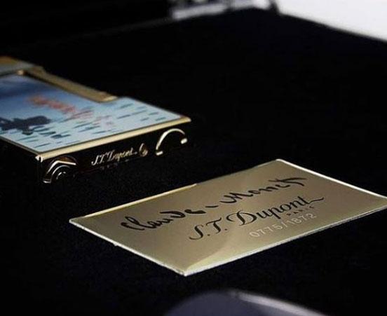 S.T. Dupont Paris Monet lighter