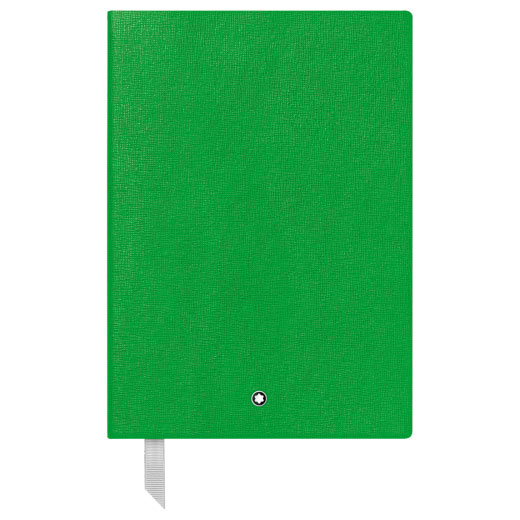 Fine Stationery Lined Green A5 Notebook #146