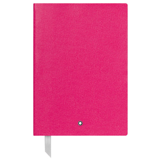 Fine Stationery Lined Pink A5 Notebook #146