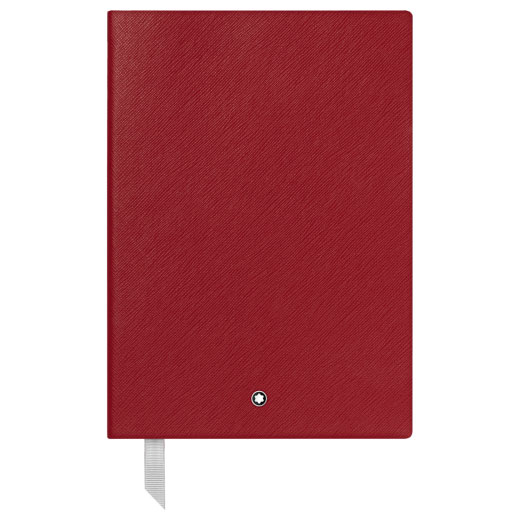 Fine Stationery Lined Red A5 Notebook #146