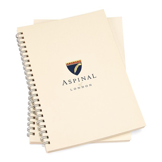 A5 Spiral Bound Lined Writing Pad Refill