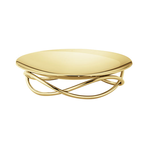 Glow Medium Gold-Plated Dish