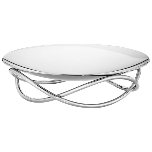 Glow Large Stainless Steel Dish