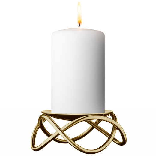 Glow Gold Candleholder