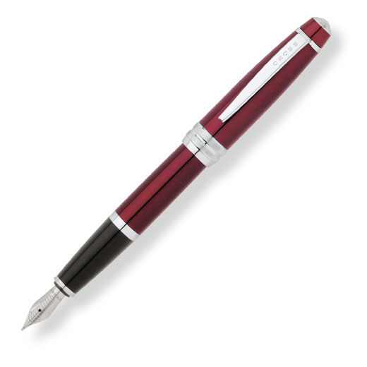 Bailey Red Lacquer Fountain Pen