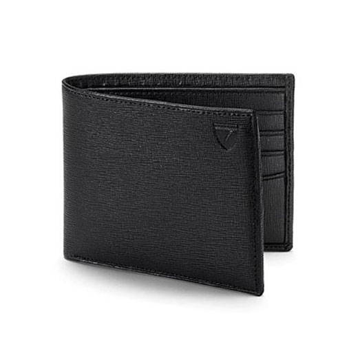 8CC Black Saffiano Leather Wallet