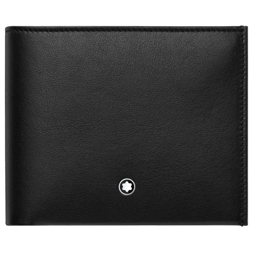 NightFlight Black 6CC Wallet with Money Clip