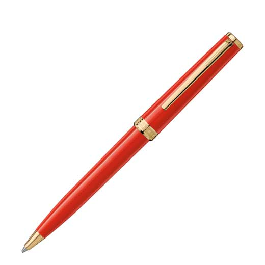 Red Precious Resin PIX Ballpoint