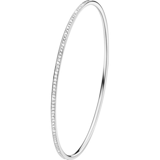 Magic Bangle 18 Kt. White Gold with Brilliant Cut Diamonds