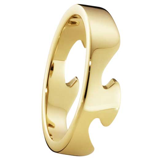 Yellow Gold Fusion End Ring