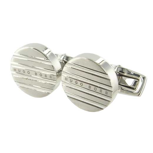 T-Damian Polished and Brushed Brass Cufflinks