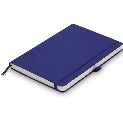 Blue A6 Softcover Ruled Notebook