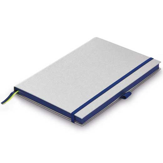 Ocean Blue A6 Hardcover Ruled Notebook