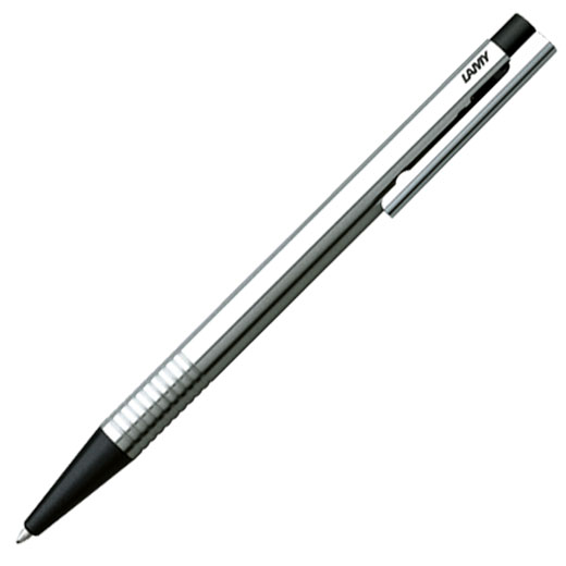 Logo Matt Black Ballpoint Pen